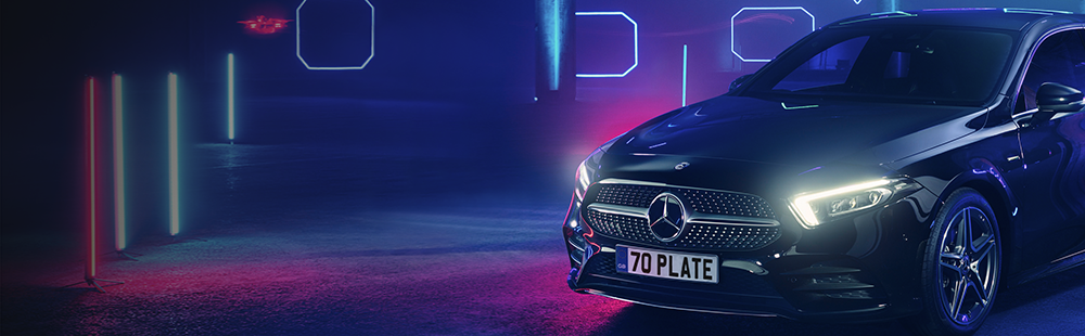 Stand out with the new 70 plate