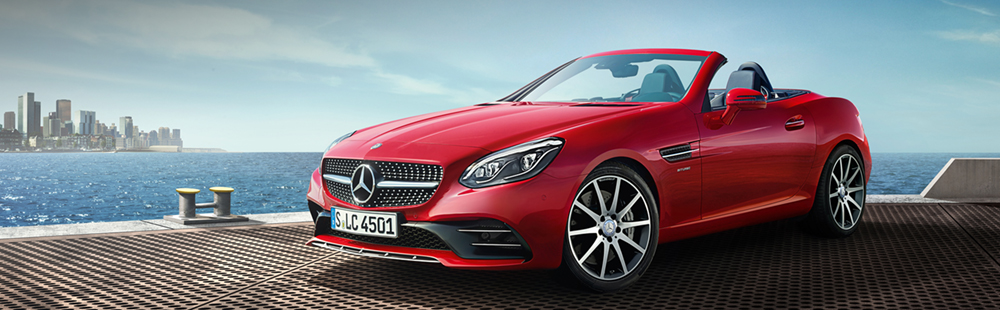 The new Mercedes-Benz SLC-Class